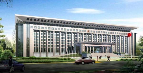 宜春市政府办公大楼