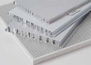 环保美观的绿色新型建材铝蜂窝板