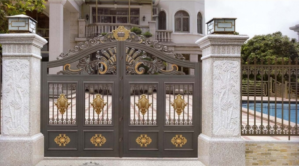 庭院门:高端化路线,平民化的设计