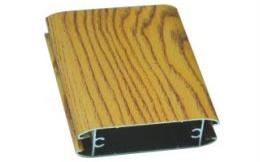 同色木纹铝材