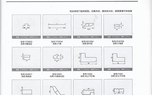 全铝家具-小塔条